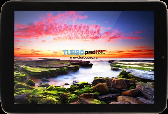 TurboPad 890 поступил в продажу